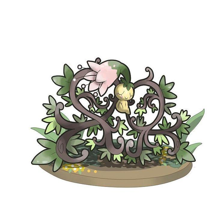 Conozcan a..FLOSPER de tipo Planta/Hada y a DURUPUA de tipo Veneno. Estos pokémon se llevan muy bien, tanto que Flosper necesita de Durupua y viceversa. Los Flosper son pokémon muy amigables y suelen vivir en los campos donde pueden extender sus raíces a voluntad... Lo extraño es que los Durupa viven en la misma zona y aprendieron a convivir con ellos en vez de atacarlos. Los Durupa son atraídos por el aroma de la flor en la cabeza de Flosper y cuando encuentran su favorita se acomodan...