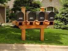 multiple mailbox post - Mailbox Posts