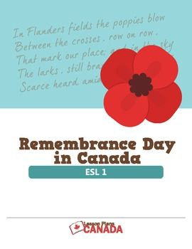 ESL - Remembrance Day in Canada (1)