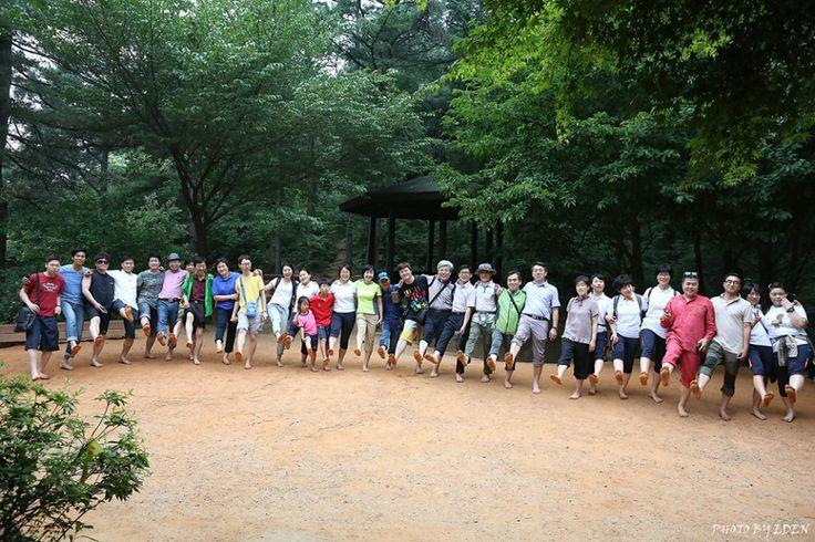 계족산 맨발산책140617