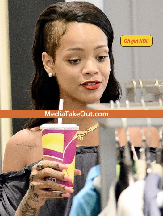 Oh No What Happened Rihanna Musta Been Wearing