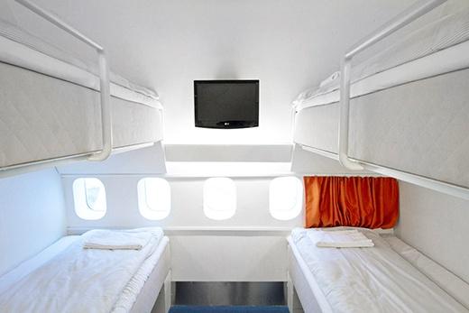 Списанный Боинг-747 превратили в отель