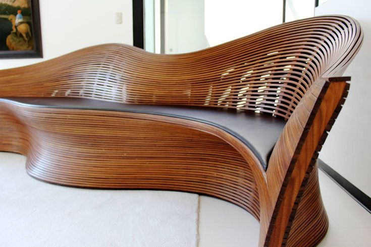 39 best wood bending images on pinterest woodworking for Bent bamboo furniture