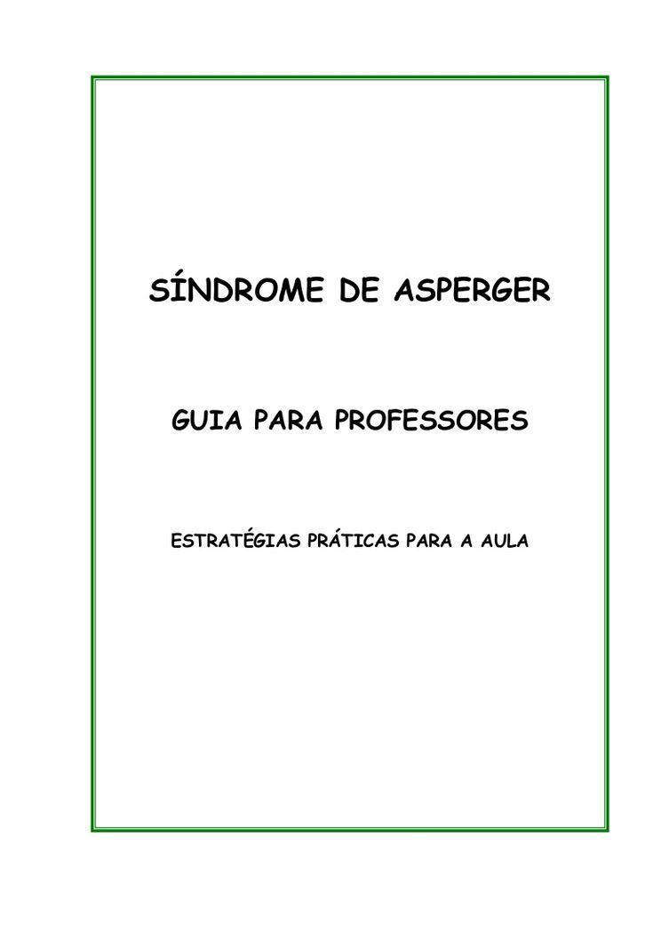 Sindrome Asperger - guia professores