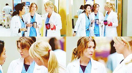 Grey's Anatomy George And Izzie And Meredith | Izzie: Meredith have you gone mental? Meredith: I ... | Grey's Anatom ...