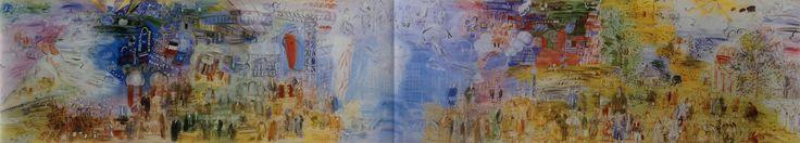 « La fée électricité » fresque de 60 m de long par 10 m de Raoul Dufy est une œuvre commandée à l'occasion de l'exposition internationale de Paris de 1937 par la compagnie parisienne de distribution d'électricité.