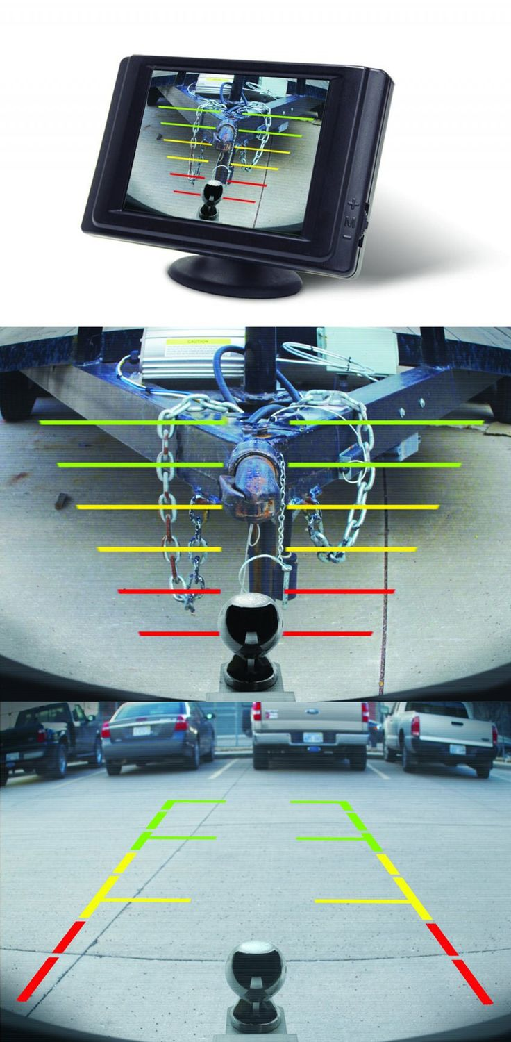 Hopkins Smart Hitch Backup Camera and Hitch Aligner provides rearview vision and an easy hookup to the trailer. An ideal gift idea for him, the guy who loves his truck and is always towing things around!