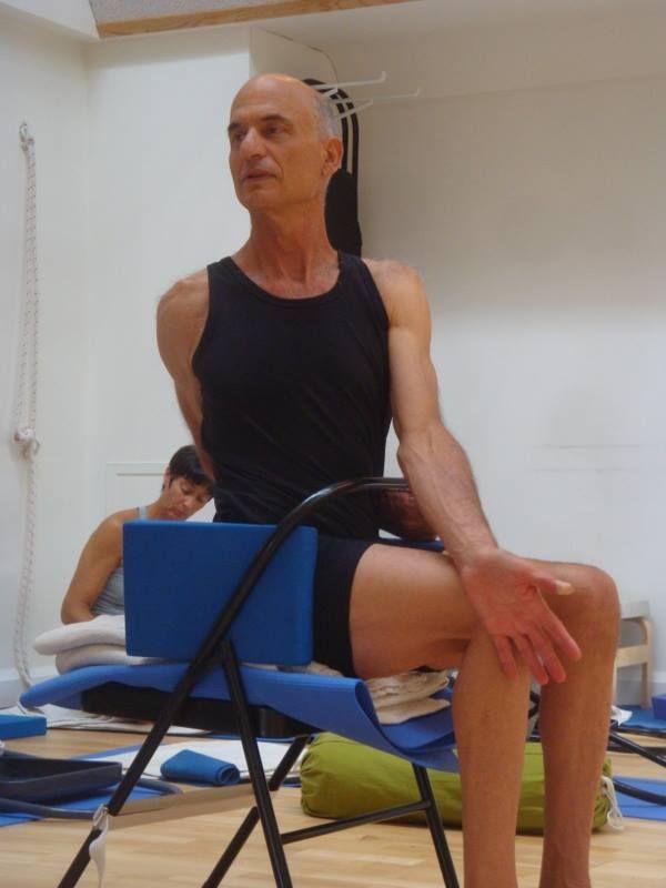 11 best Iyengar Yoga Chair Twists images on Pinterest