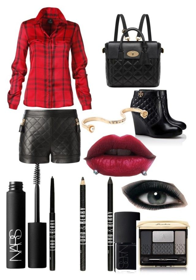 Neda Lotfian #•2 by neda-lotfian on Polyvore featuring polyvore, fashion, style, Moschino, Tory Burch, Mulberry, Maria Francesca Pepe, Guerlain, NARS Cosmetics, Lord & Berry, Max Factor and clothing