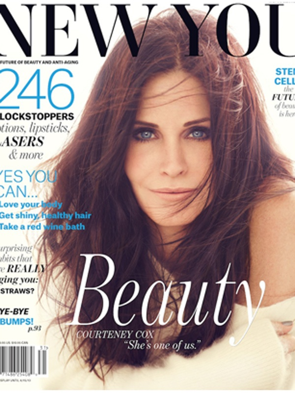 Courtney Cox...It's no wonder she looks amazing!!!