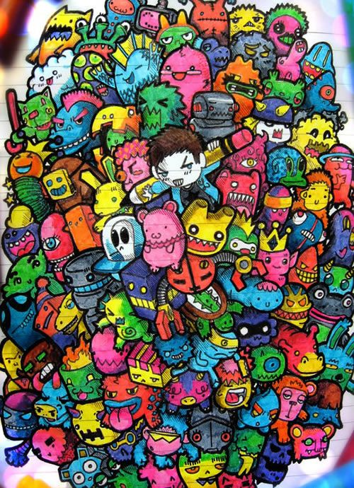25 Best Ideas About Doodle Monster On Pinterest Cute