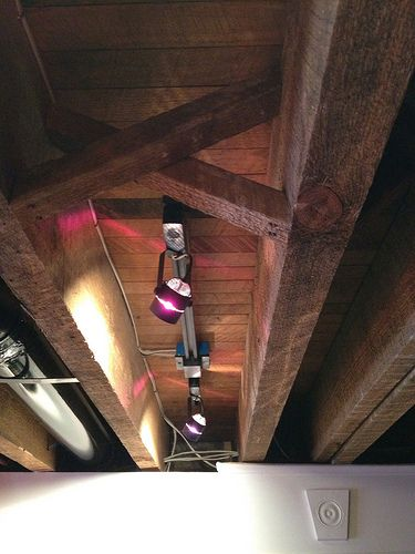 17 Images About Unfinished Ceilings On Pinterest