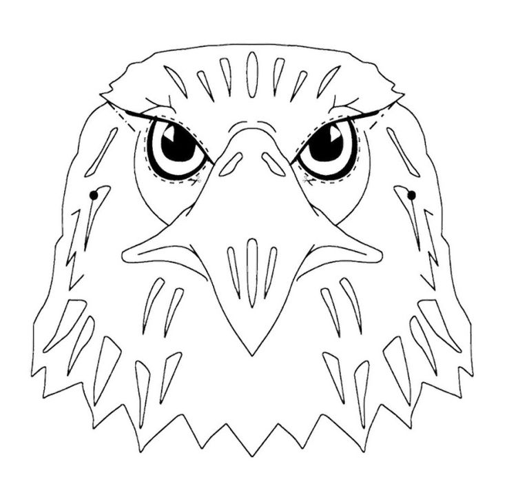 tribal tattoos for men and women bald eagle head