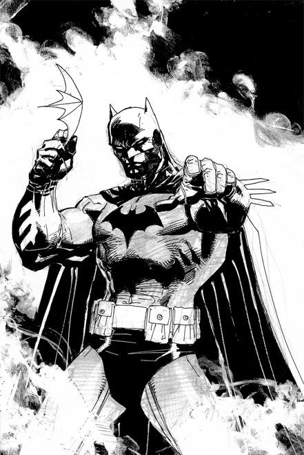 Jim Lee Sketches | Batman Silence: Sketchbook de Jim Lee