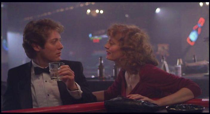 Young James Spader | White Palace , 1990, with Susan Sarandon