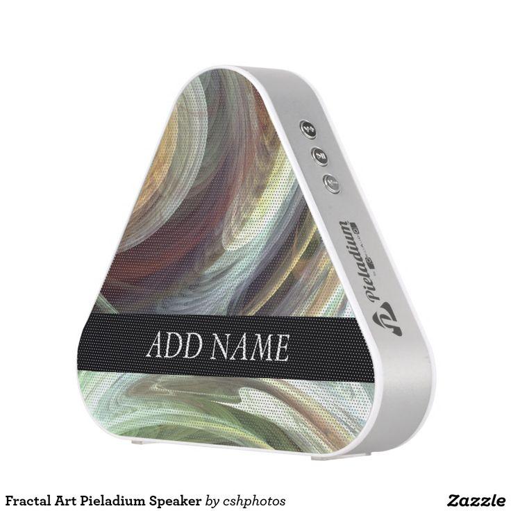 Fractal Art Pieladium Speaker