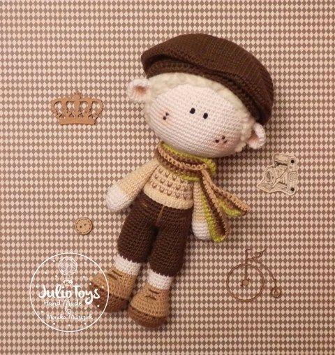 Cicilist crochet pattern by Julio Toys