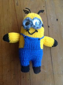 Free Despicable Me Minion Knitting Patterns | Living with the Knit Guru
