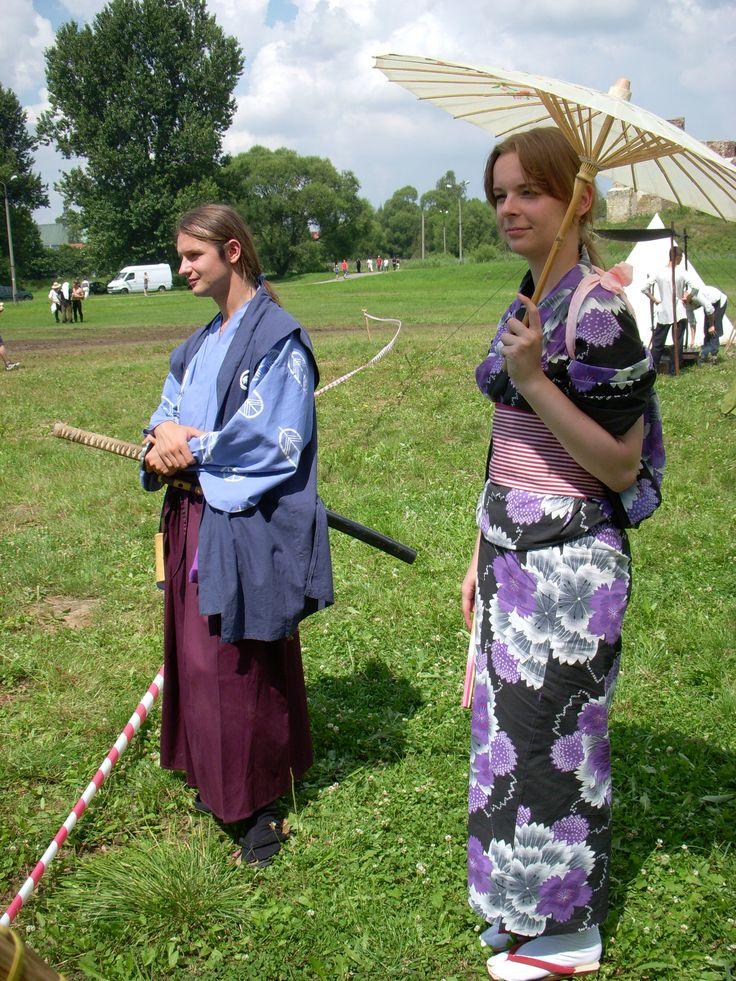 Samurai (XVI century) by Isao and shikomi by Justyna