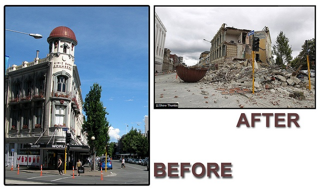 Earthquake before after by Damon Bay, via Flickr