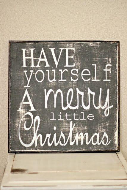 Christmas,Christmas Sign,Holidays,Have yourself a merry little Christmas,Christmas decoration,Merry Christmas,custom wood sign,Home decor on Etsy, $49.00