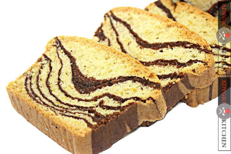 Chec pufos cu cacao | Zebra Teacake - Adygio Kitchen