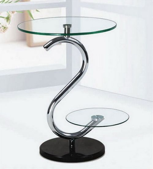 Small Round Glass Table For Home