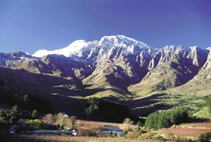 Winterhoek Mountains north of Tulbagh