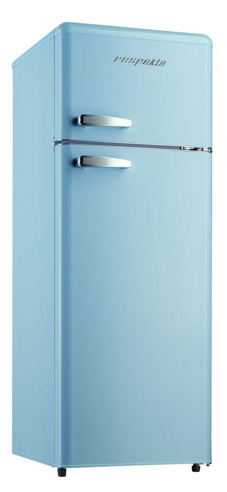 respekta Retro Refrigerator Kombi Fridge Freezer Combination KG 146 Light Blue A   Home, Furniture & DIY, Appliances, Fridges & Freezers   eBay!