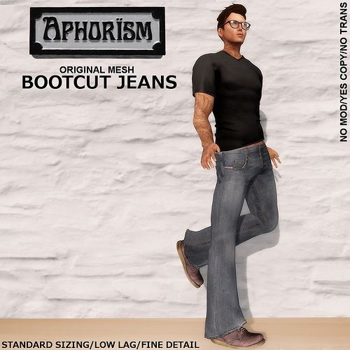 !APHORISM! Bootcut Jeans ad | Flickr - Photo Sharing!