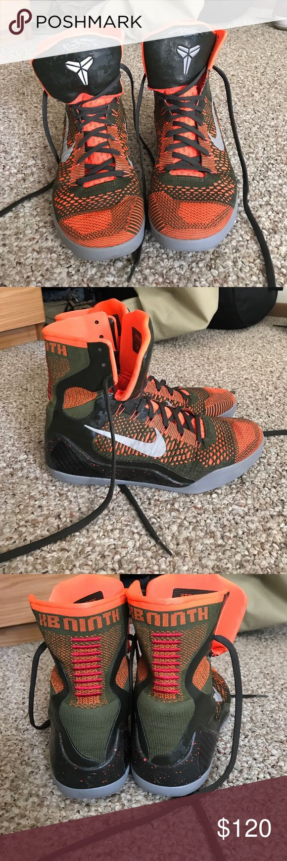 Rare Kobe High Top Basketball Shoes Only worn a handful of times and only worn in a gym. Never worn outside. Great condition. No box. Nike Shoes Athletic Shoes