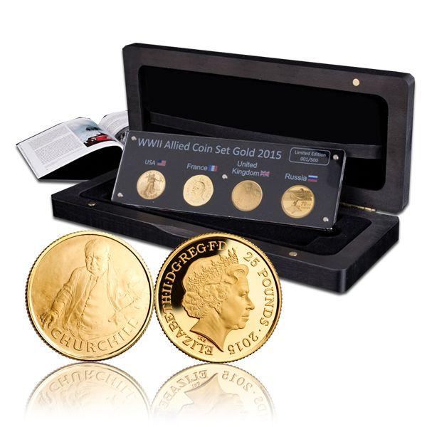 Allied gold set