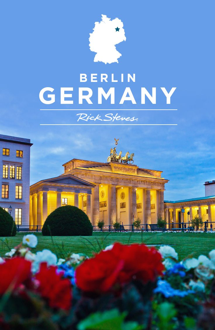 Berlin's Brandenburg Gate on Day 2 of the Rick Steves Best of Berlin, Prague & Vienna Tour.