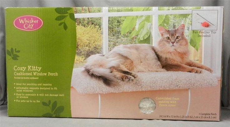 kitty city cat cozy bed