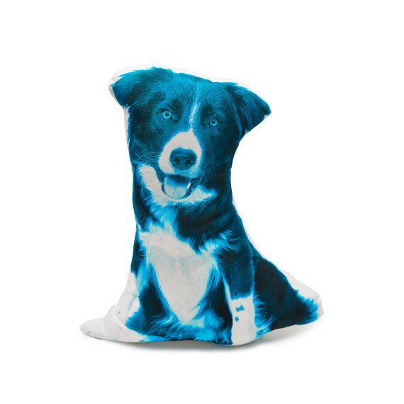 Border collie cushion border collie pillow dog pillow