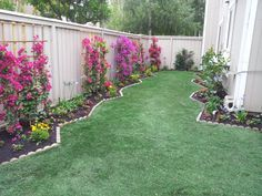 Irvine condo grassy sideyard