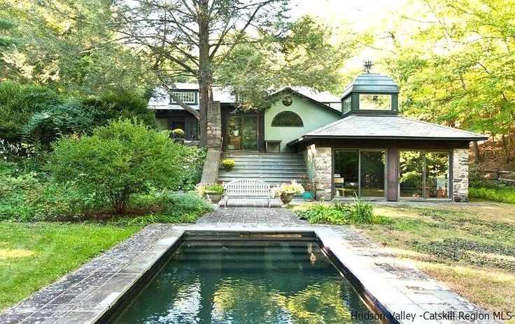 Own the incredible Arts and Crafts home in Woodstock where Milton Glaser designed the 'I ♥ NY' logo