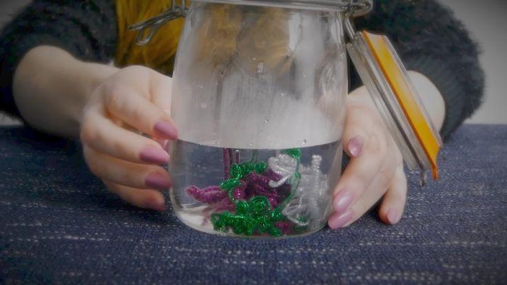 ASMR Calm Down Jar | Glitter, Fizzing, Plopping, Squeezing