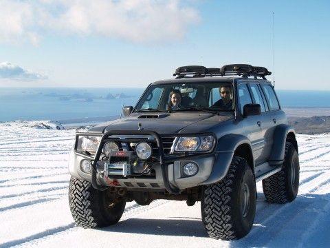 Iceland custom off road | 4x4 Trucks Iceland - Eyjafjallajokull - Nissan Patrol