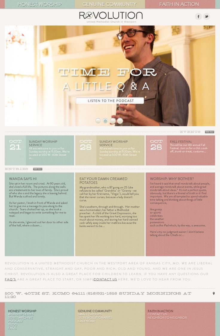 Website soft colors - Soft Colors Website Design