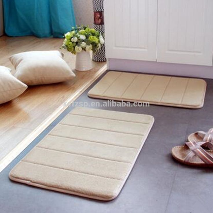 Dark Green Bath Mat Cth mat set