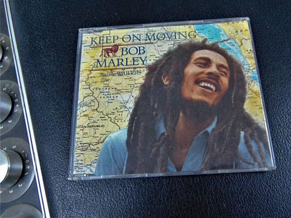 Bob Marley and the Wailers Keep On Moving 4 Track Reggae Vintage Jewel Case CD Single 1995 Island Records