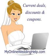 Cheap Wedding Supplies and Promotions at MyOnlineWeddingHelp.com