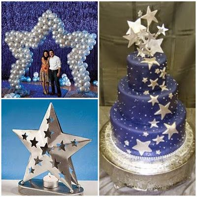 Dancing Under the Stars Sweet Fifteen Theme #quinceanera