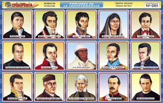 Toñito Avalos Ilustrador: TOÑILUSTRACIÓN: Próceres y Precursores ...