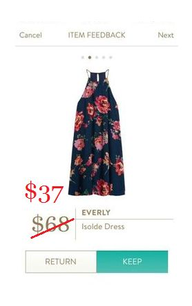 Everly Women's Sleeveless Floral-Print Shift Dress 1o colors available! Pricing may vary based on color, size, and availability! Grab this Stitch Fix Everly Isolde Dress for a discounted pric…