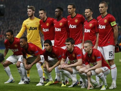 manchester united lineup against manchester city