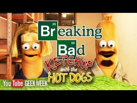 I play Jesse in this BREAKING BAD Season 5 Puppet Recap: Ketchup with the Hot Dogs by The Jim Henson Company & Nerdist.