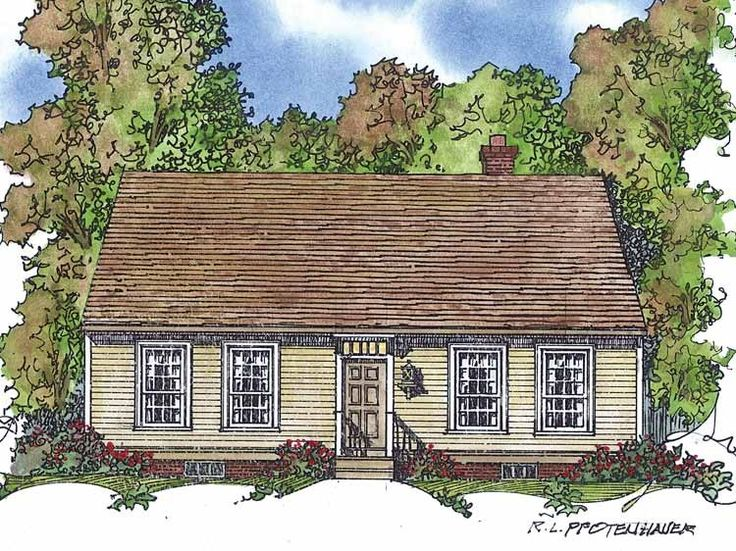 Eplans Cape Cod House Plan Contemporary Take On A Historic Cod Cape Plan 1775