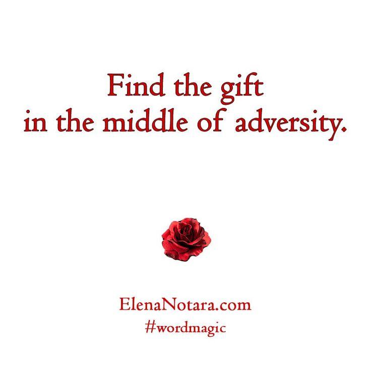 Hidden Gift - Inspirational Quotes, Life, #WordMagic, Elena Notara, Mystical Poetry, Empowerment, Motivation, Beyond Difficulty